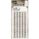 THS094 Stampers Anonymous Tim Holtz Layering Stencil - Tinsel